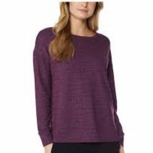 32 Degrees Ladies Medium Purple Fleece Top NWT